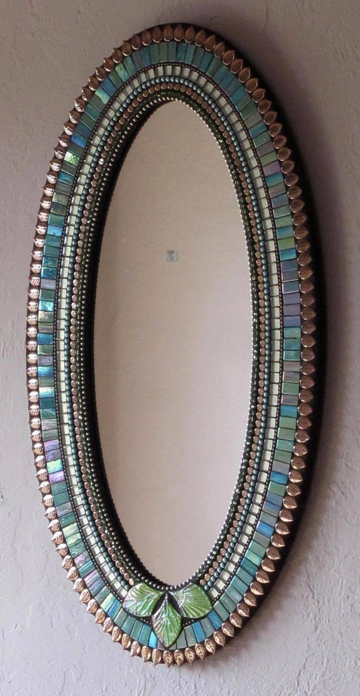 Top 25+ Best Mosaic Mirrors Ideas On Pinterest | Mosaic, Mosaic in Large Mosaic Mirrors (Image 15 of 15)