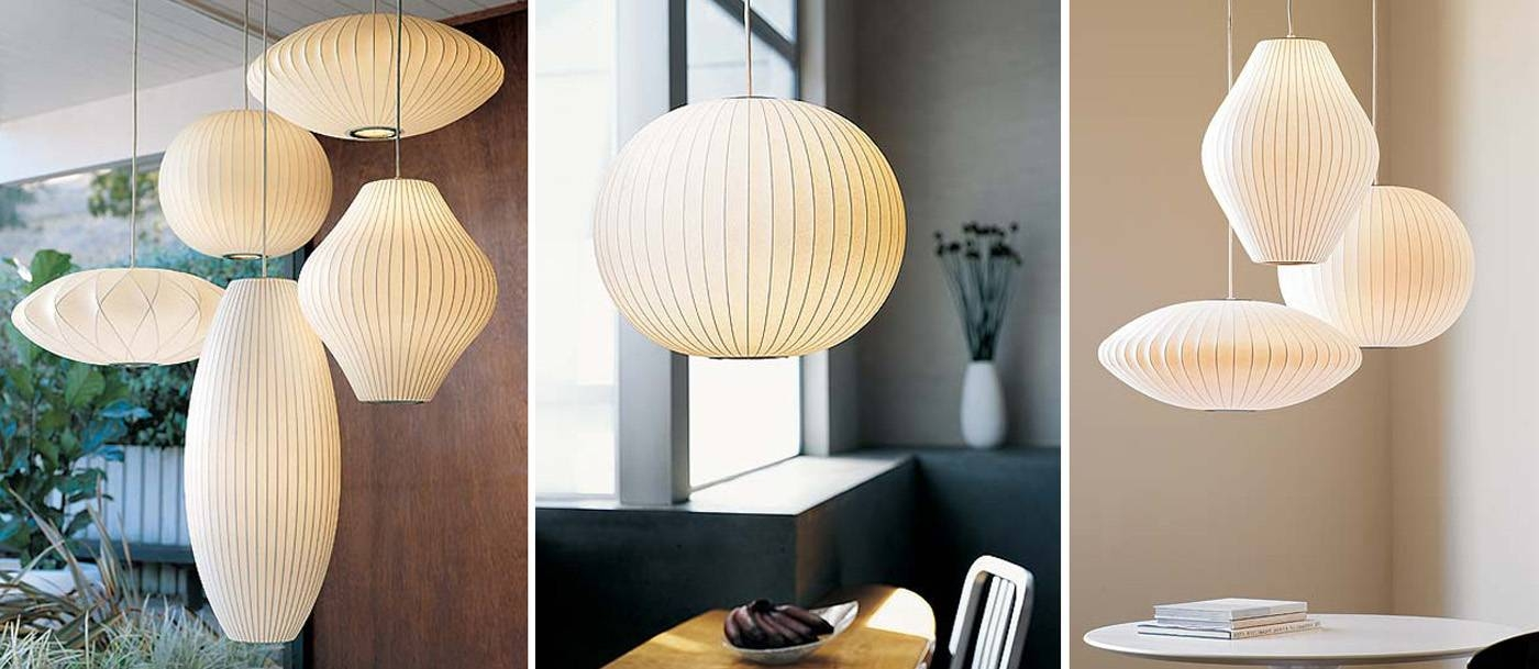 15 inspirations of nelson pendant lights top 25 george nelson lamps warisan lighting for nelson pendant lights image 15 of aloadofball Images