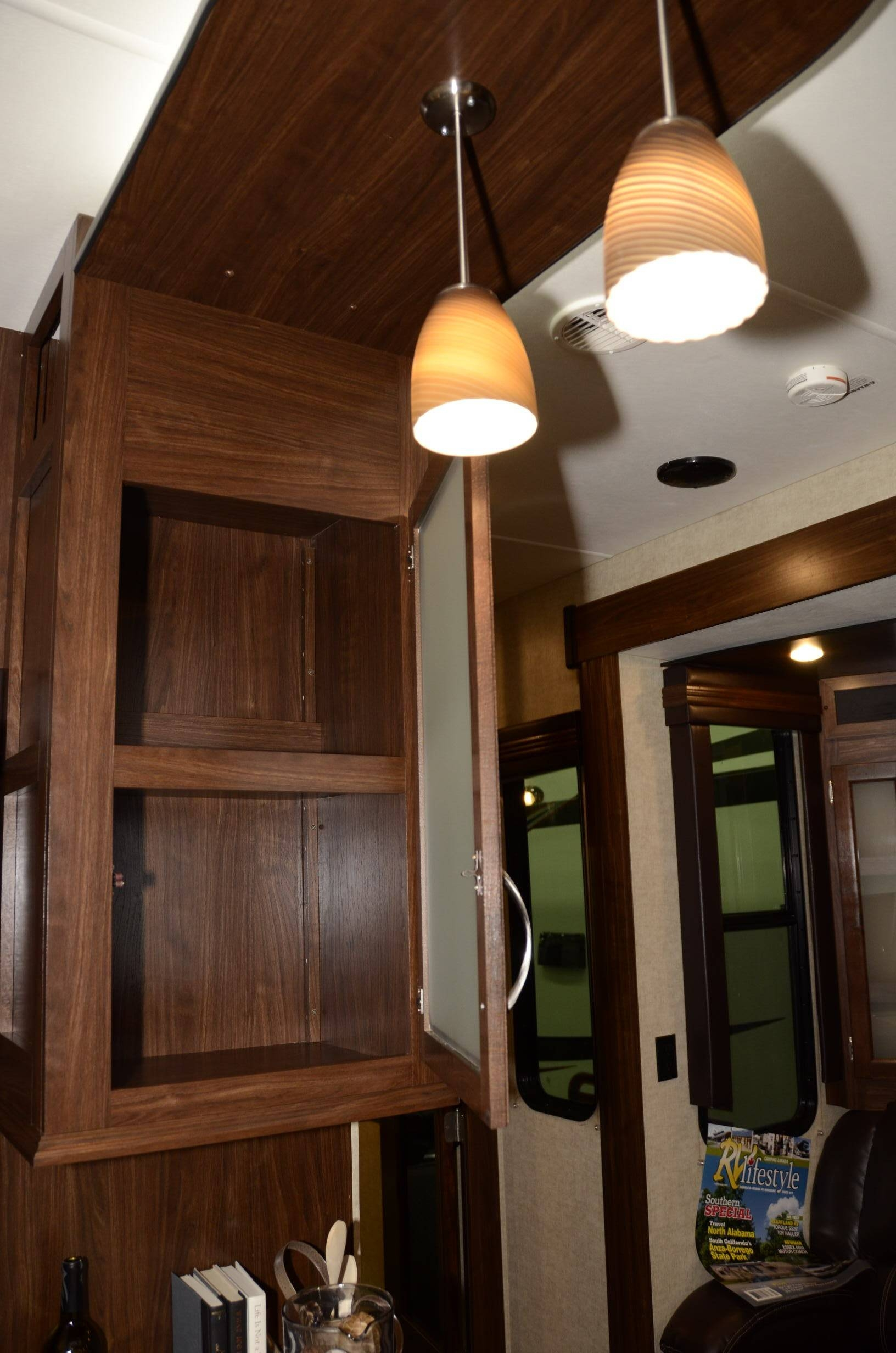 Torque Toy Hauler 396 13 Ft Garage Multi Use Bunk House Family in Rv Pendant Lights (Image 15 of 15)