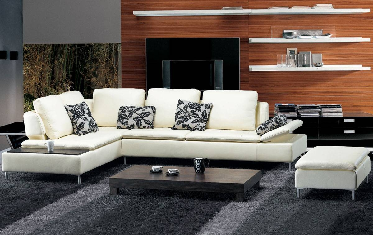 Tosh Furniture Fy682 Beige Leather Sectional Sofa Set – Flap Stores Throughout Tosh Sectional Sofas (View 11 of 15)