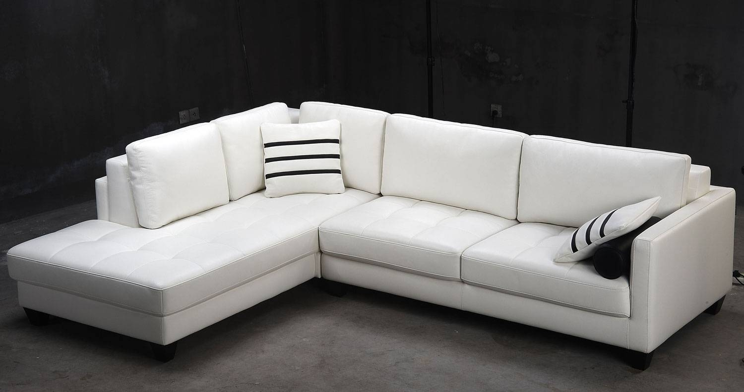 Tosh Furniture White Leather Sectional Sofa – Flap Stores In Tosh Sectional Sofas (View 14 of 15)