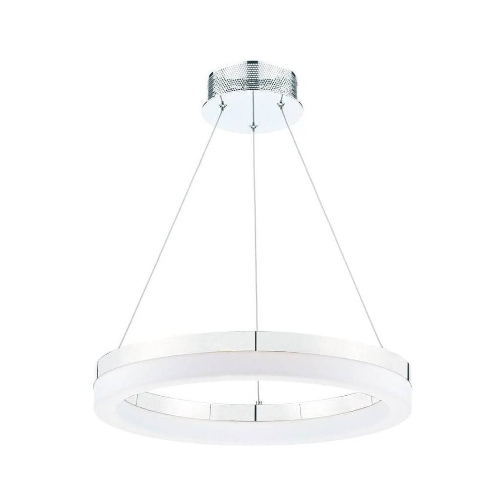 Toulon Led Acrylic And Chrome Ceiling Pendant Light Tou1750 regarding Toulon Pendant Lights (Image 11 of 15)