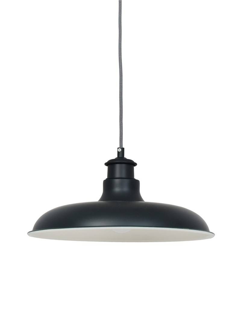 Toulon Pendant Light In Carbon - Steel | Garden Trading inside Toulon Pendant Lights (Image 12 of 15)