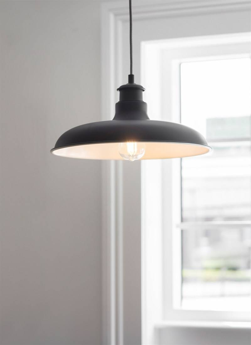 Toulon Pendant Light In Carbon - Steel | Garden Trading pertaining to Toulon Pendant Lights (Image 13 of 15)