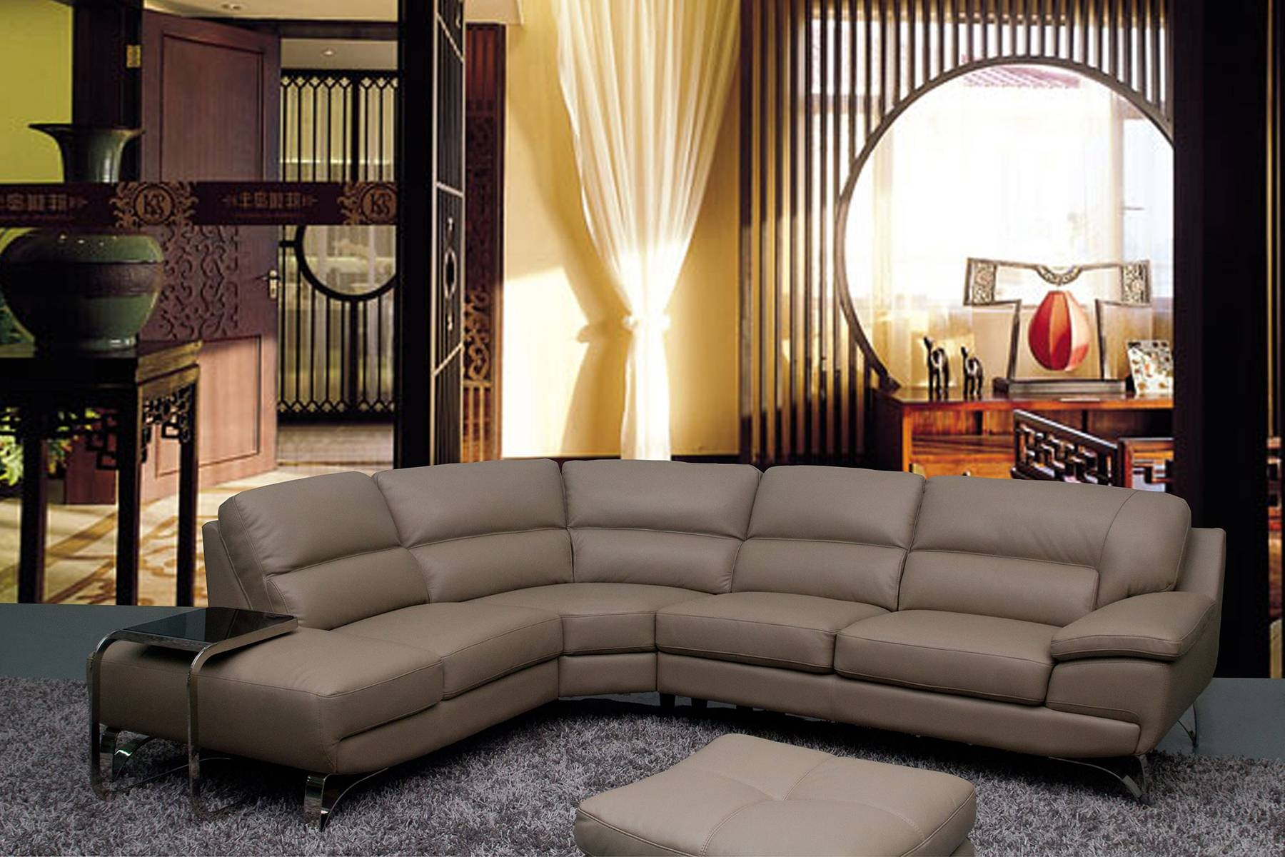 Traditional Leather Sectional Sofa And Sectional Sofas 10 for Traditional Leather Sectional Sofas (Image 14 of 15)