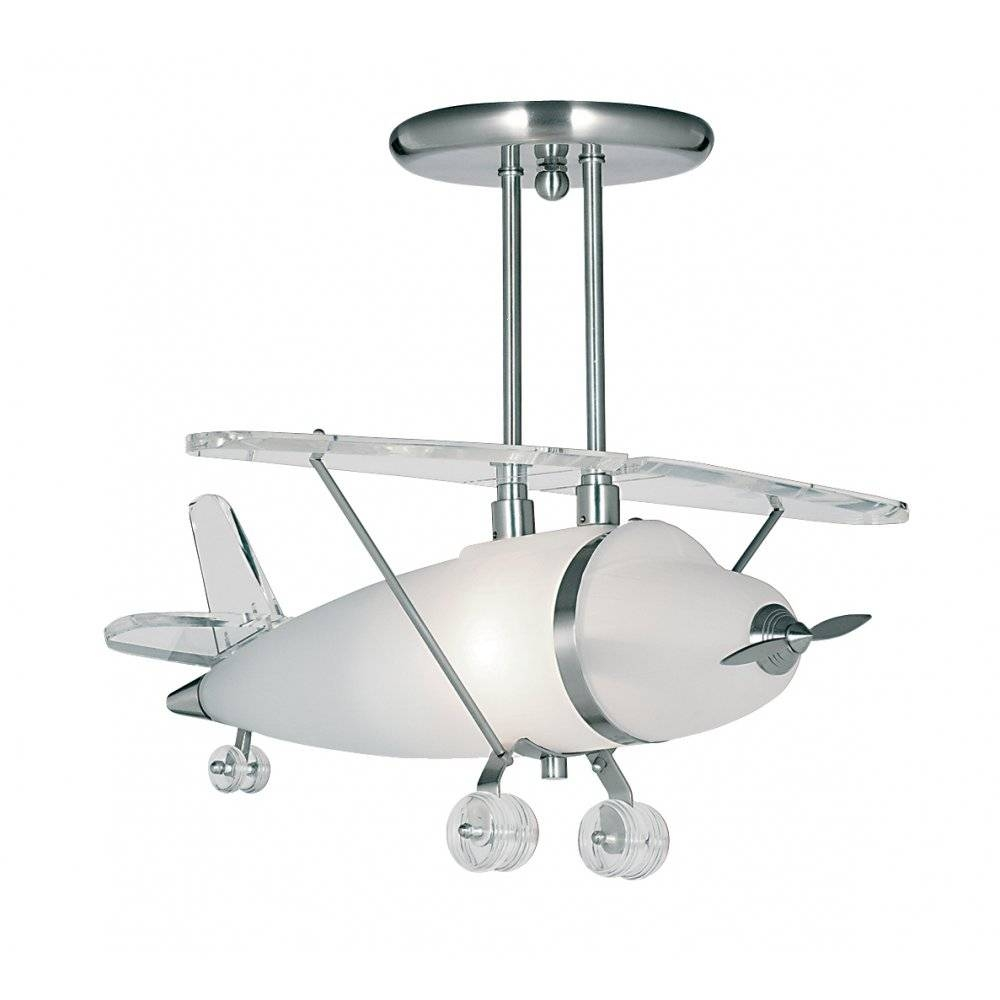 Transform Your Room Into A Airport With Aeroplane Ceiling Lights with regard to Airplane Pendant Lights (Image 15 of 15)