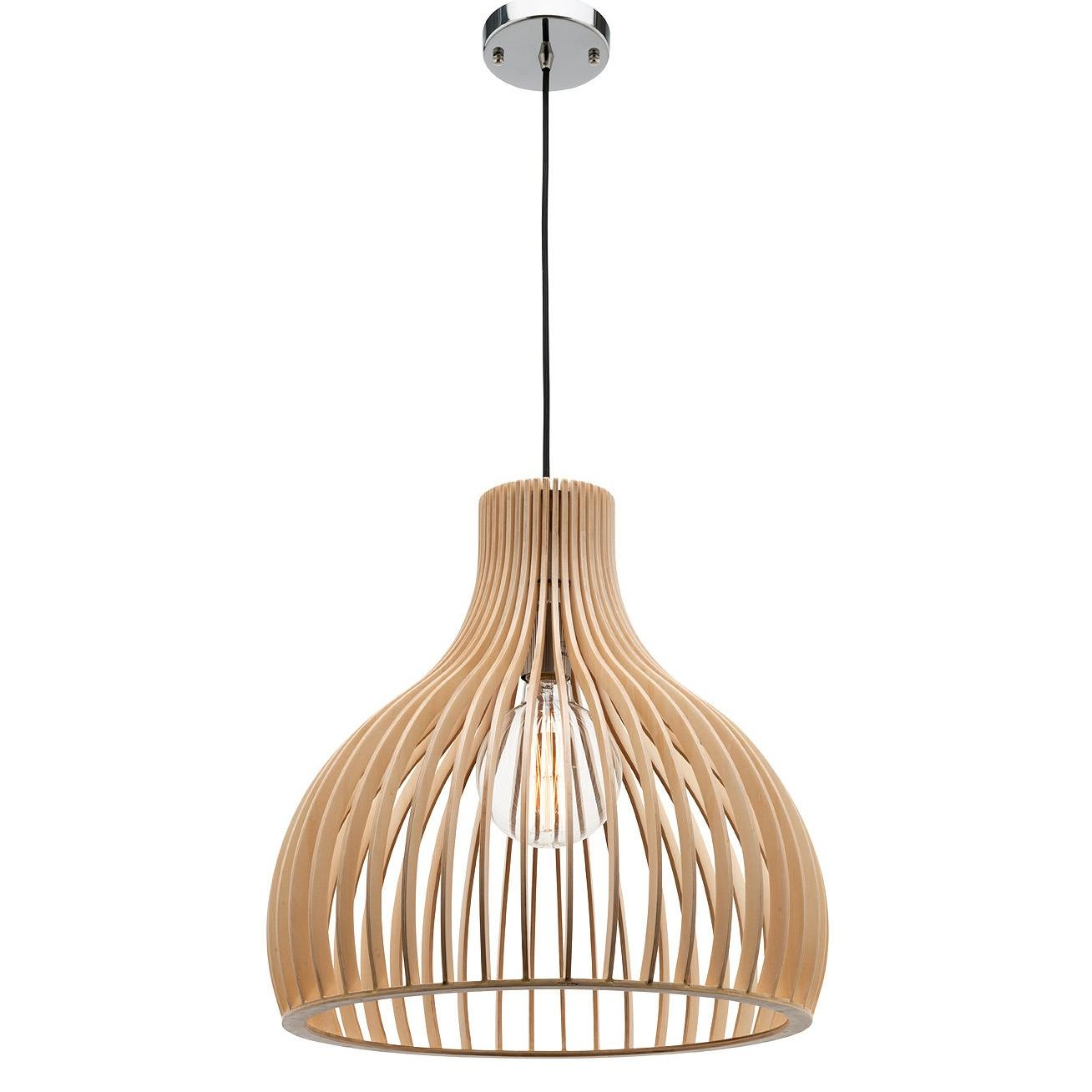 Treasure Series Timber Pendant Light Kits – Lighting Matters throughout Wooden Pendant Lights Australia (Image 14 of 15)