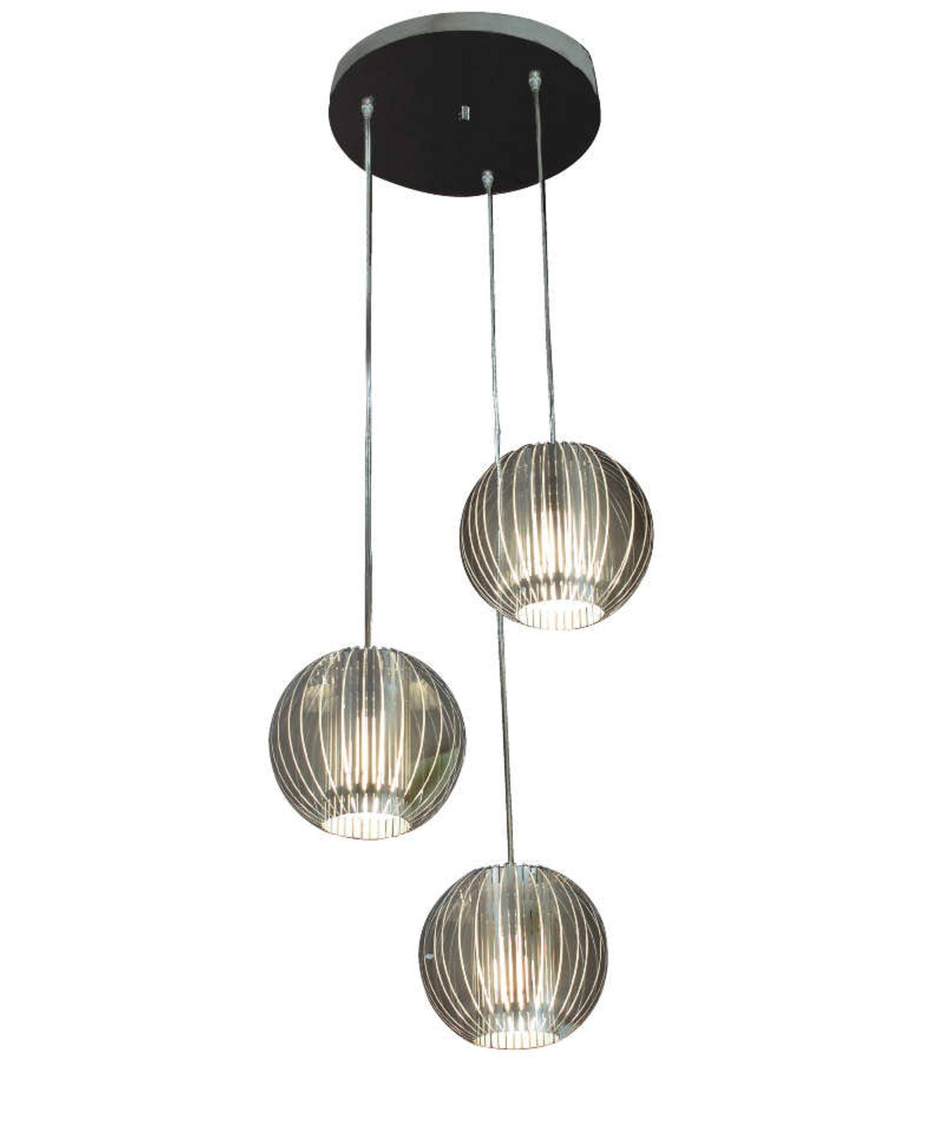 Trend Lighting Tp6300-3 Phoenix 14 Inch Wide 3 Light Multi Pendant within 3 Pendant Light Kits (Image 14 of 15)