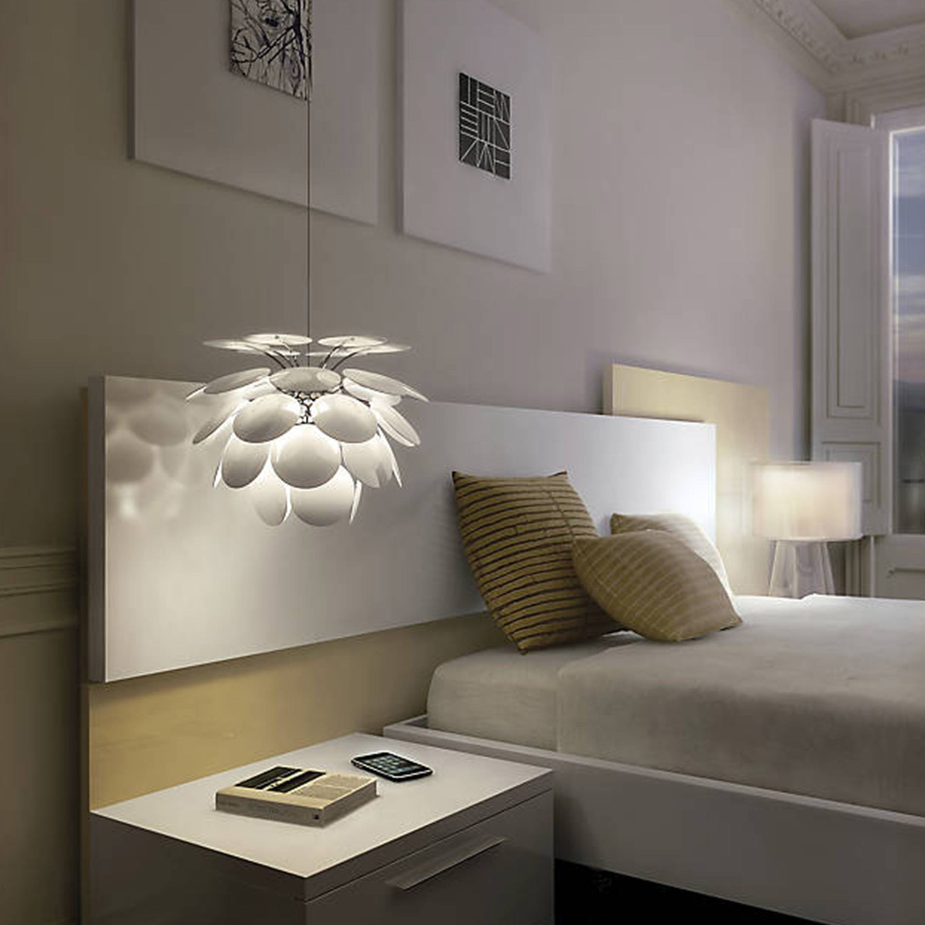 Trends To Try: Pendant Lights Over Bedside Tables At Lumens inside Threshold Pendant Lights (Image 15 of 15)