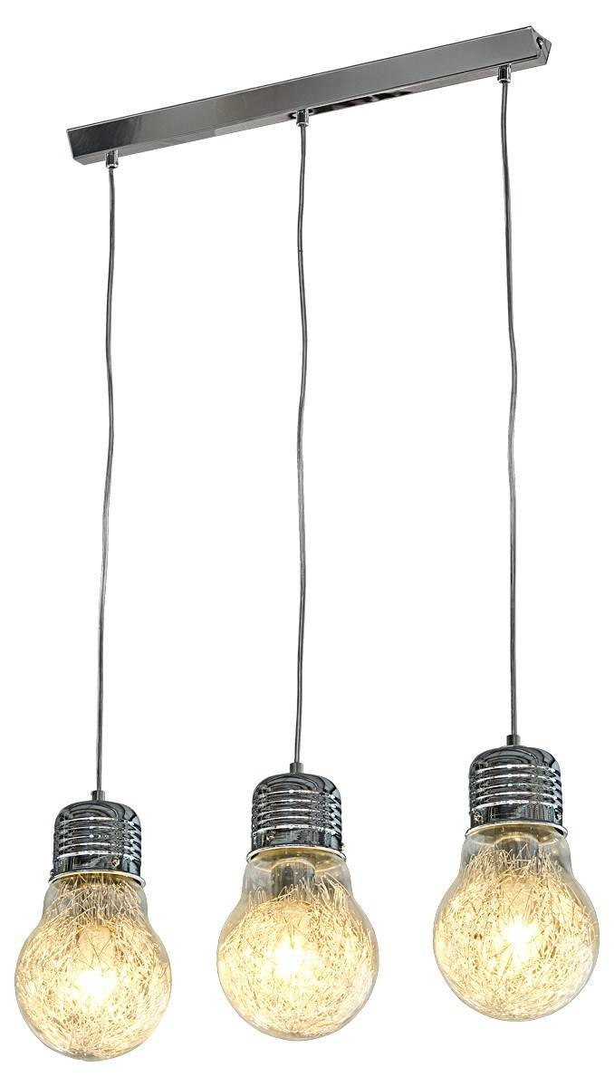 Triple Bulb Ceiling Light Fitting - Lhz23C/3 - Be Fabulous! inside 3 Lights Pendant Fitter (Image 13 of 15)
