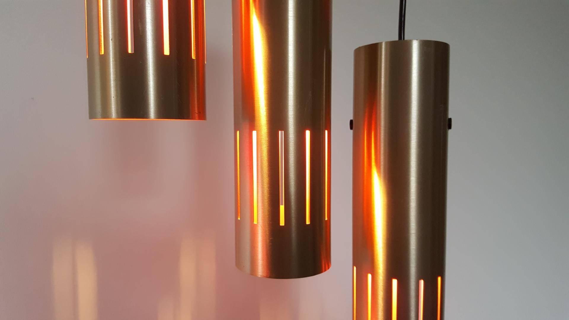 Trombone Pendant Lightsjo Hammerborg For Fog & Mørup, 1960S throughout 1960S Pendant Lights (Image 14 of 15)