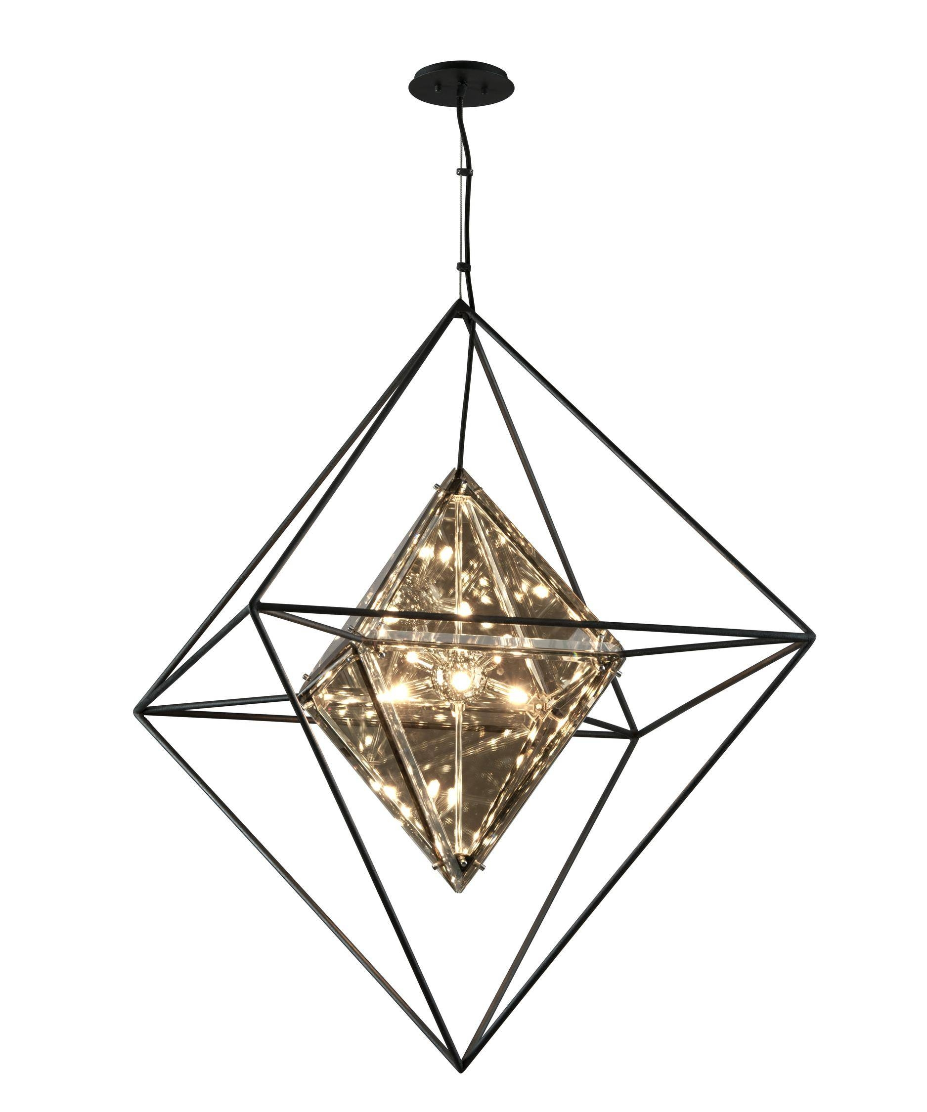Troy Lighting F5327 Epic 30 Inch Wide 8 Light Large Pendant pertaining to Epic Lamps Pendant Lights (Image 14 of 15)