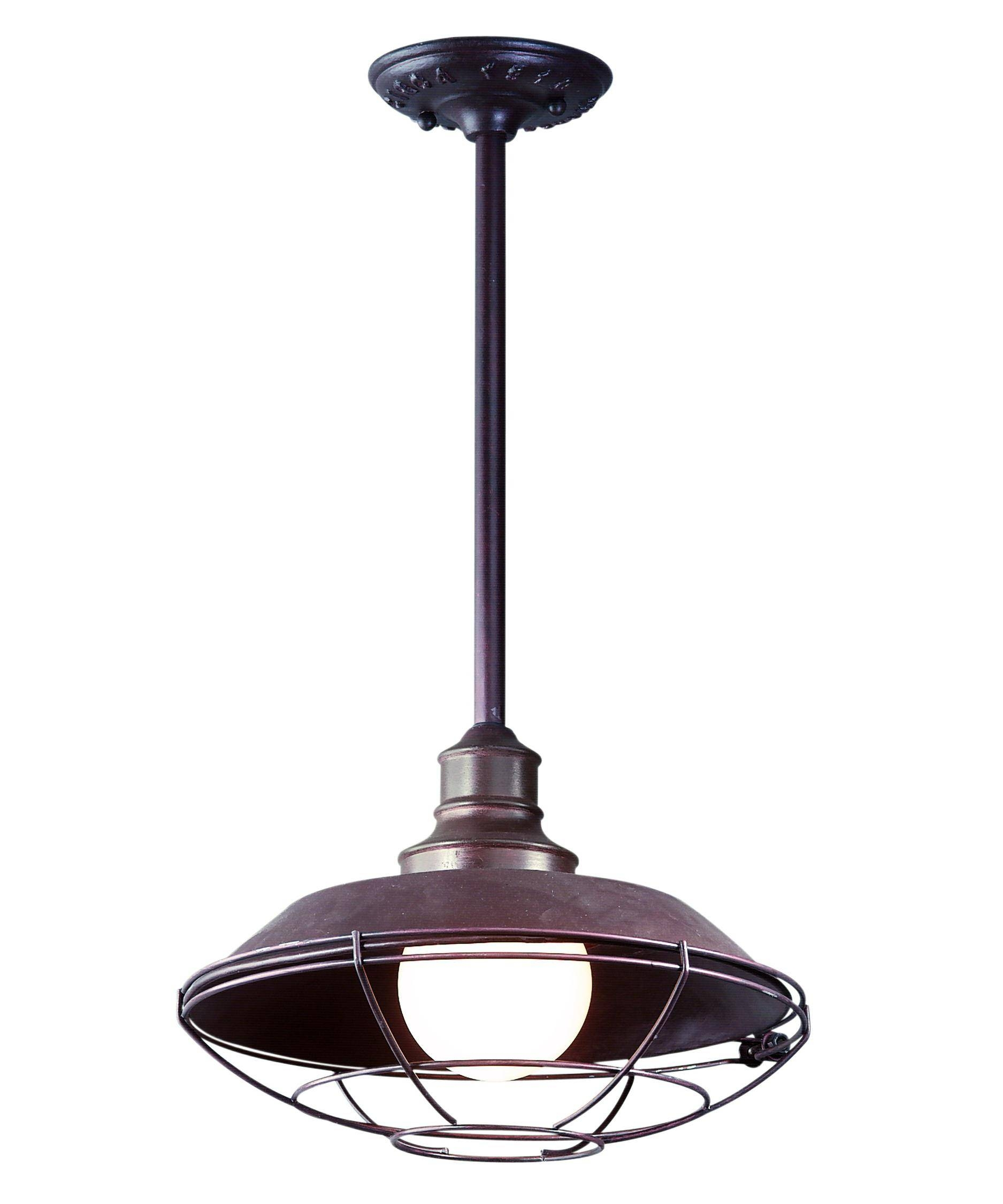 Troy Lighting F9273 Circa 1910 12 Inch Wide 1 Light Outdoor With Outdoor Pendant Lighting (View 15 of 15)