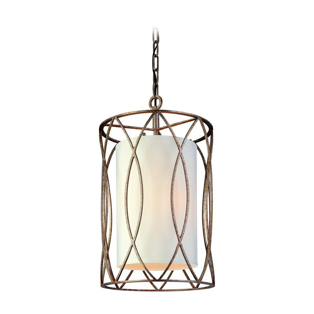 Troy Lighting Sausalito 3 Light Silver Gold Pendant F1287Sg – The In Sausalito Troy Lighting (View 11 of 15)