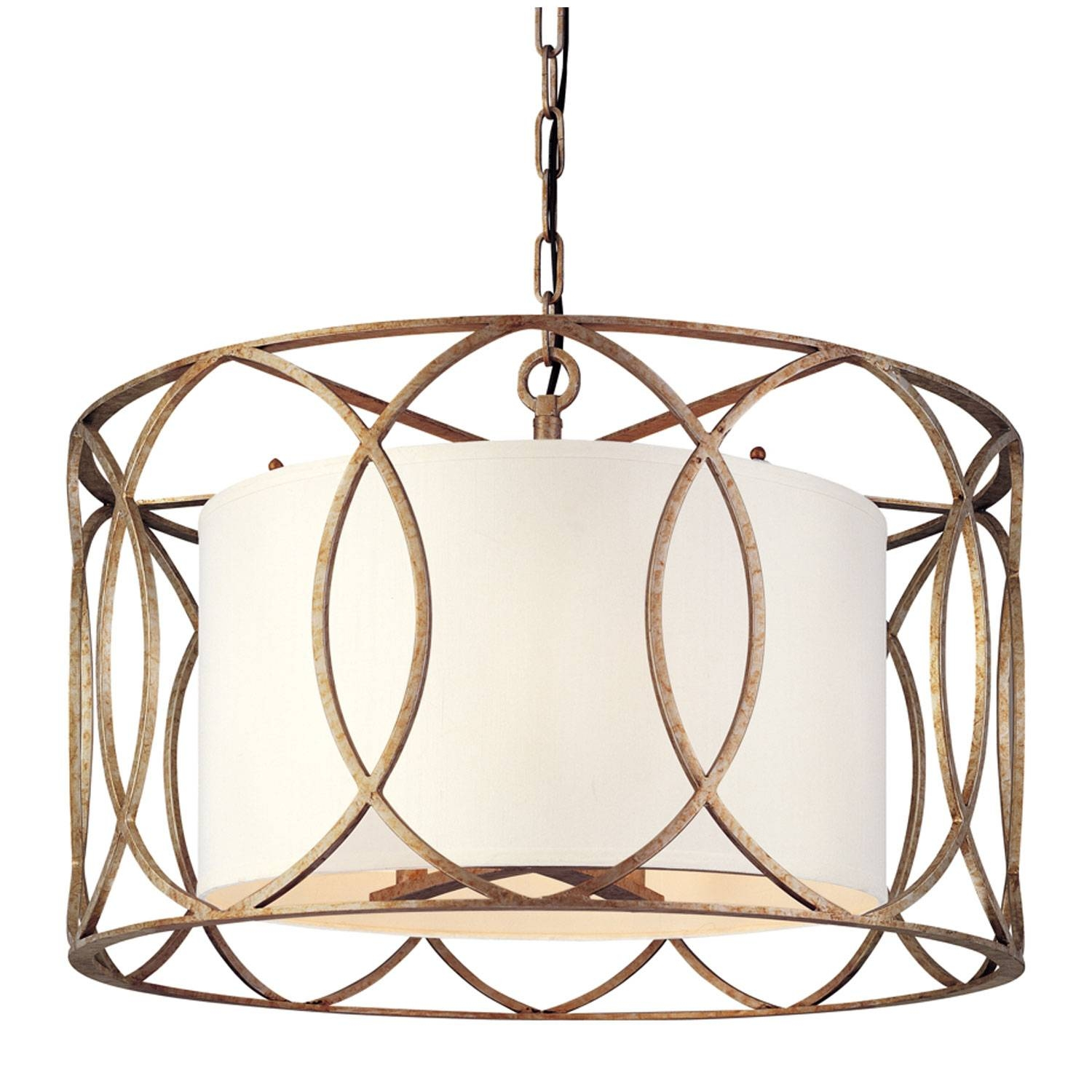 Troy Sausalito Five Light Drum Pendant On Sale In Sausalito Pendant Lights (View 13 of 15)