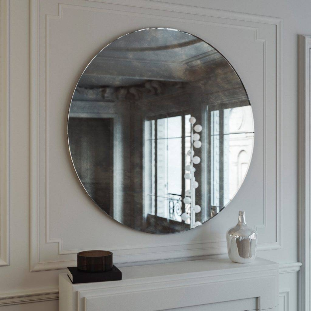 Uncategorized : Vintage Frameless Mirror Mirror Ideas Make Your in Vintage Frameless Mirrors (Image 11 of 15)