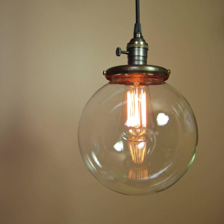 Unique Globe Pendant Lighting 98 For Large Glass Pendant Lights intended  for Large Glass Ball Pendant
