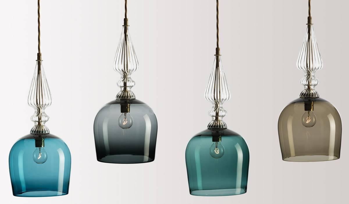 Unique Hand Blown Glass Mini Pendant Lights 51 In Modern Ceiling with Unique Glass Pendant Lights (Image 12 of 15)