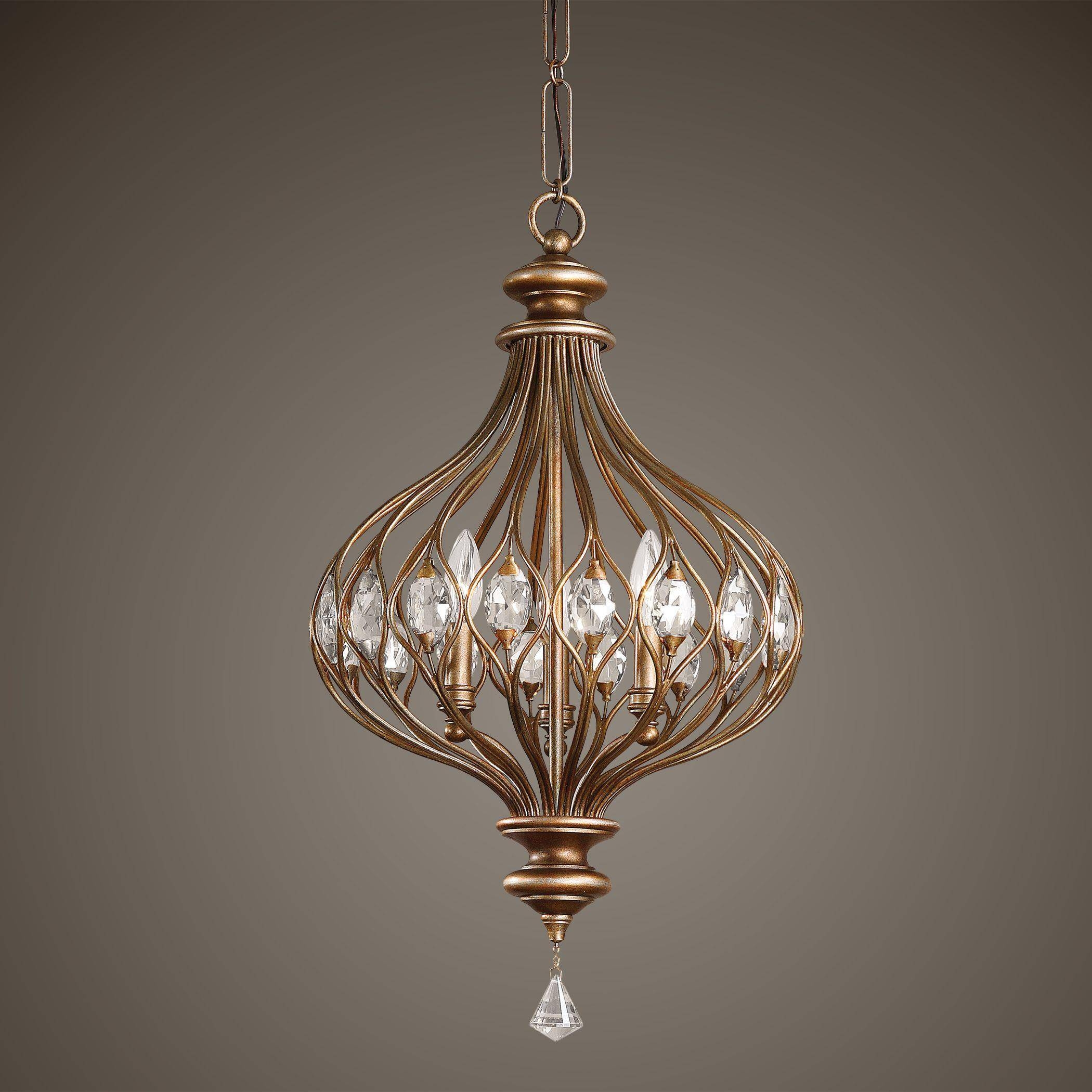 Uttermost 21966 Pendant Lighting - Sabina within Uttermost Pendant Lights (Image 4 of 15)