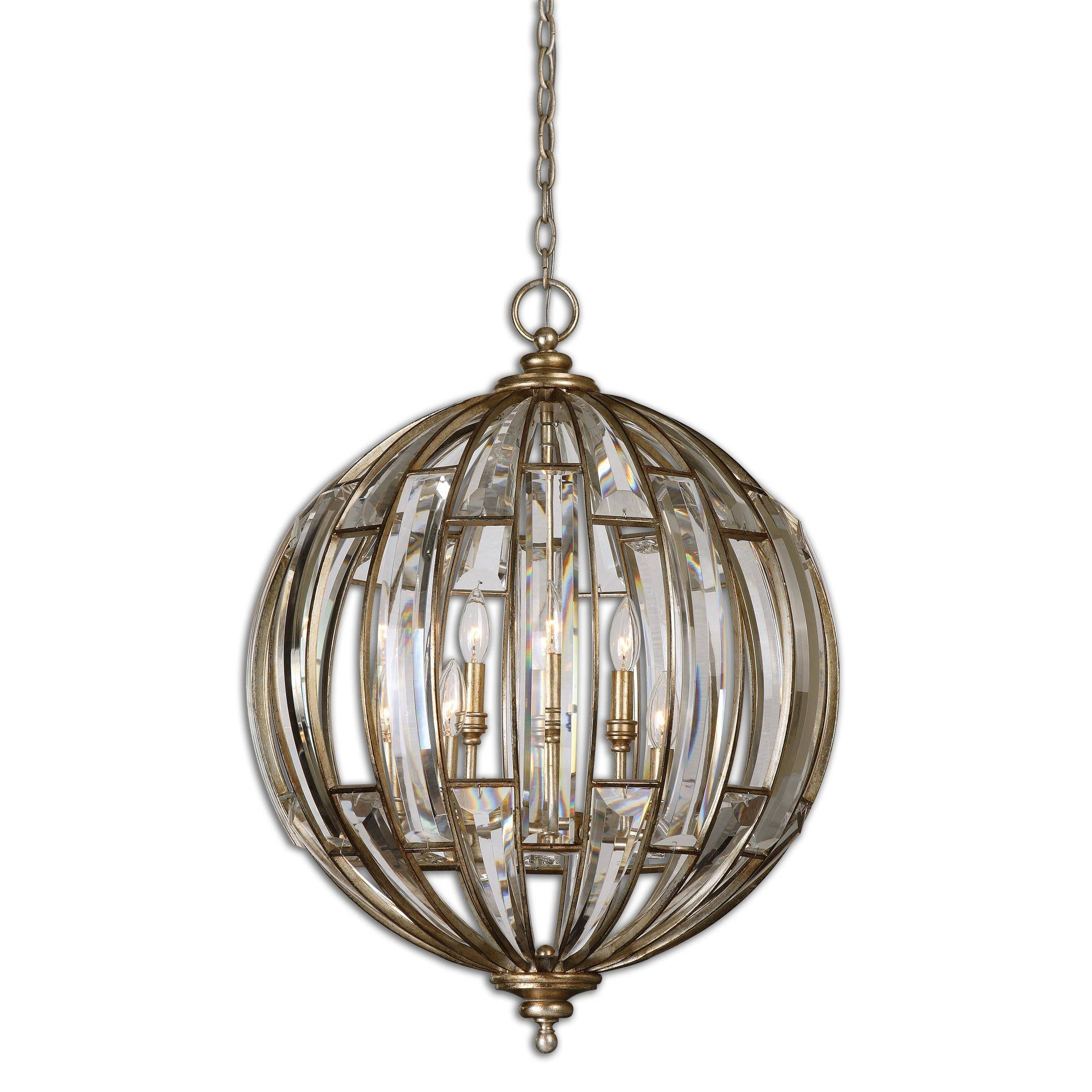 Uttermost Vicentina 6 Light Sphere Pendantuttermost | Wolf And in Uttermost Pendant Lights (Image 15 of 15)