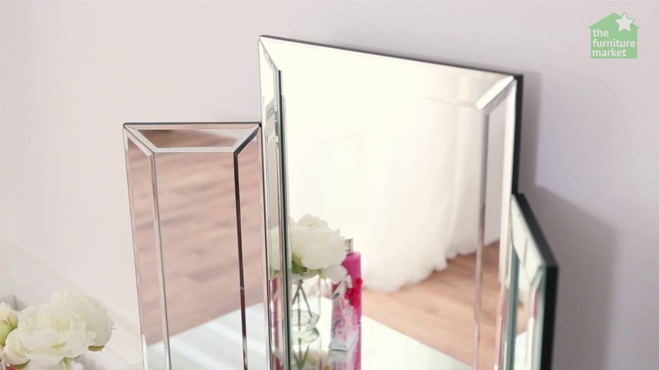 Venetian Dressing Table Mirror - Youtube throughout Venetian Dressing Table Mirrors (Image 7 of 15)