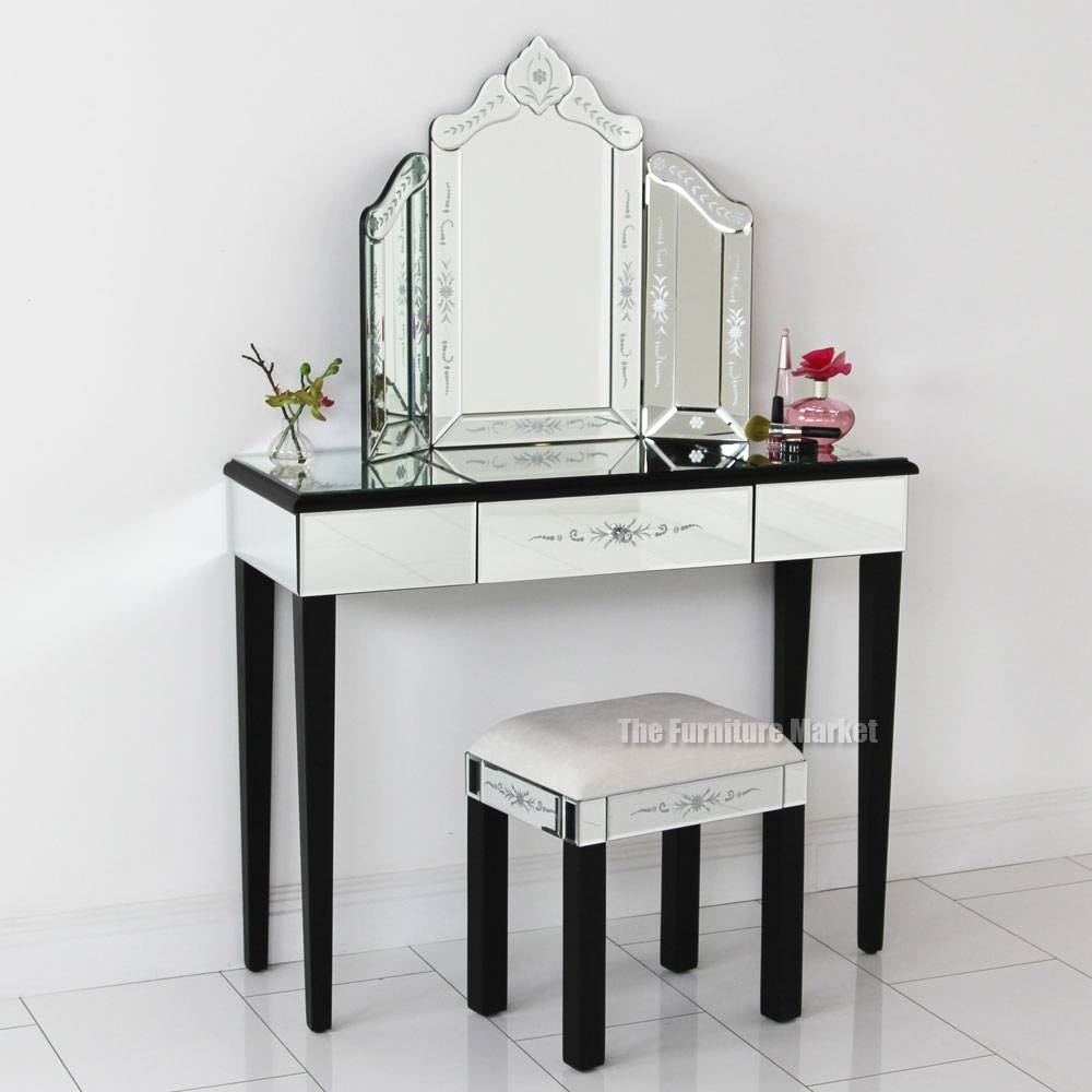 Venetian Etched Dressing Table Mirror | Bedroom Design Ideas for Venetian Dressing Table Mirrors (Image 13 of 15)