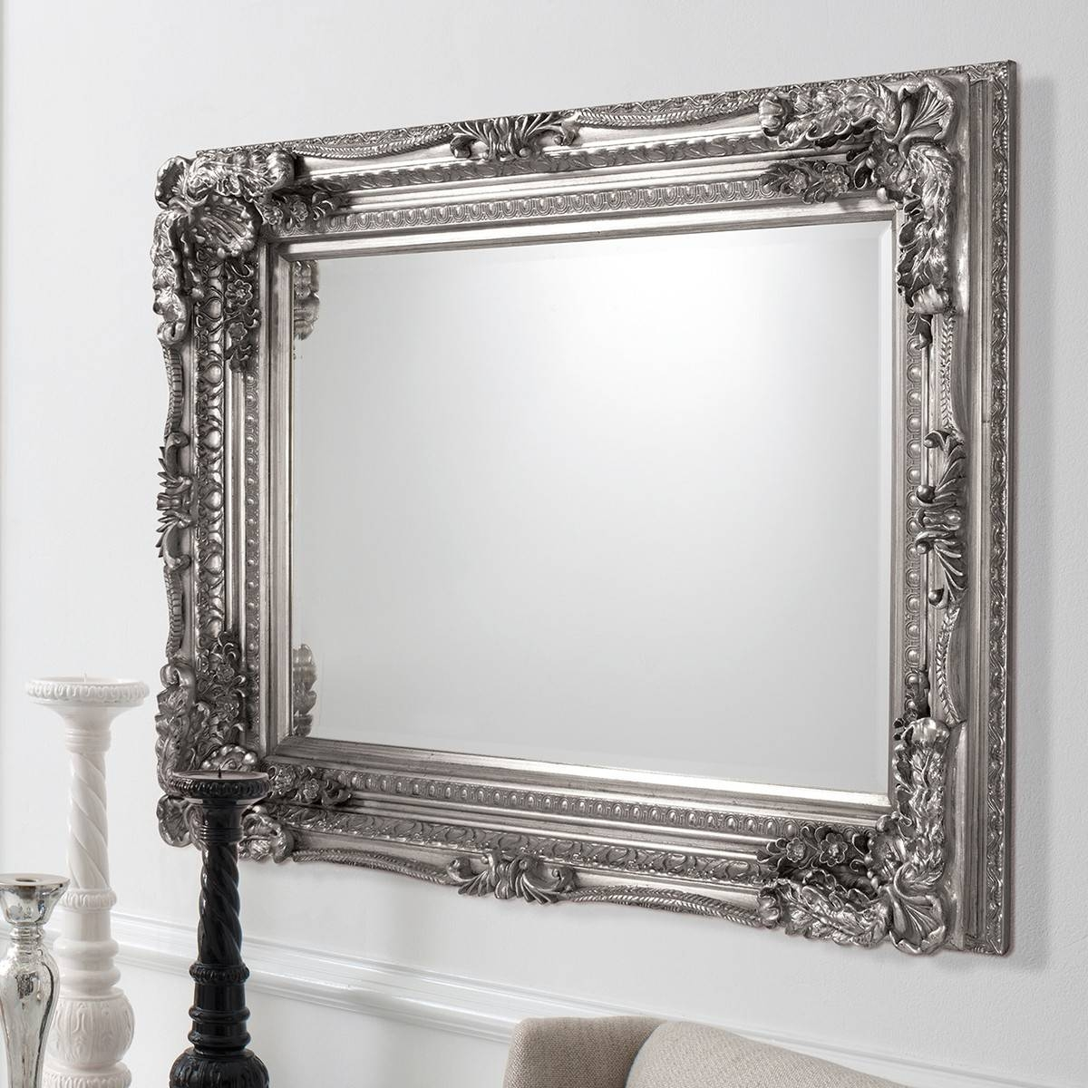 Featured Photo of Silver Baroque Mirrors