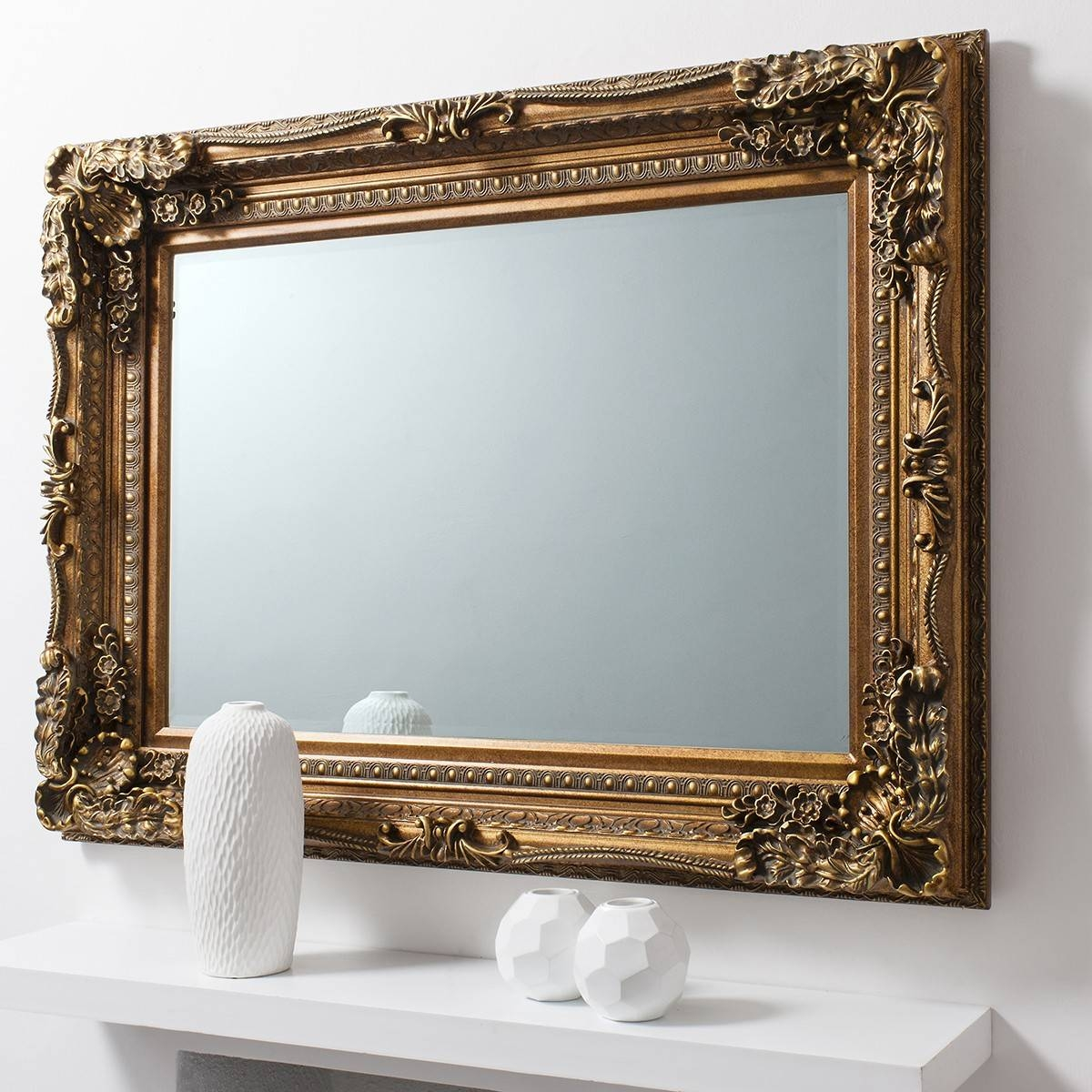 Versailles Baroque Mirror From £249 - Luxury Wall Mirrors | Ashden with regard to Baroque Wall Mirrors (Image 13 of 15)