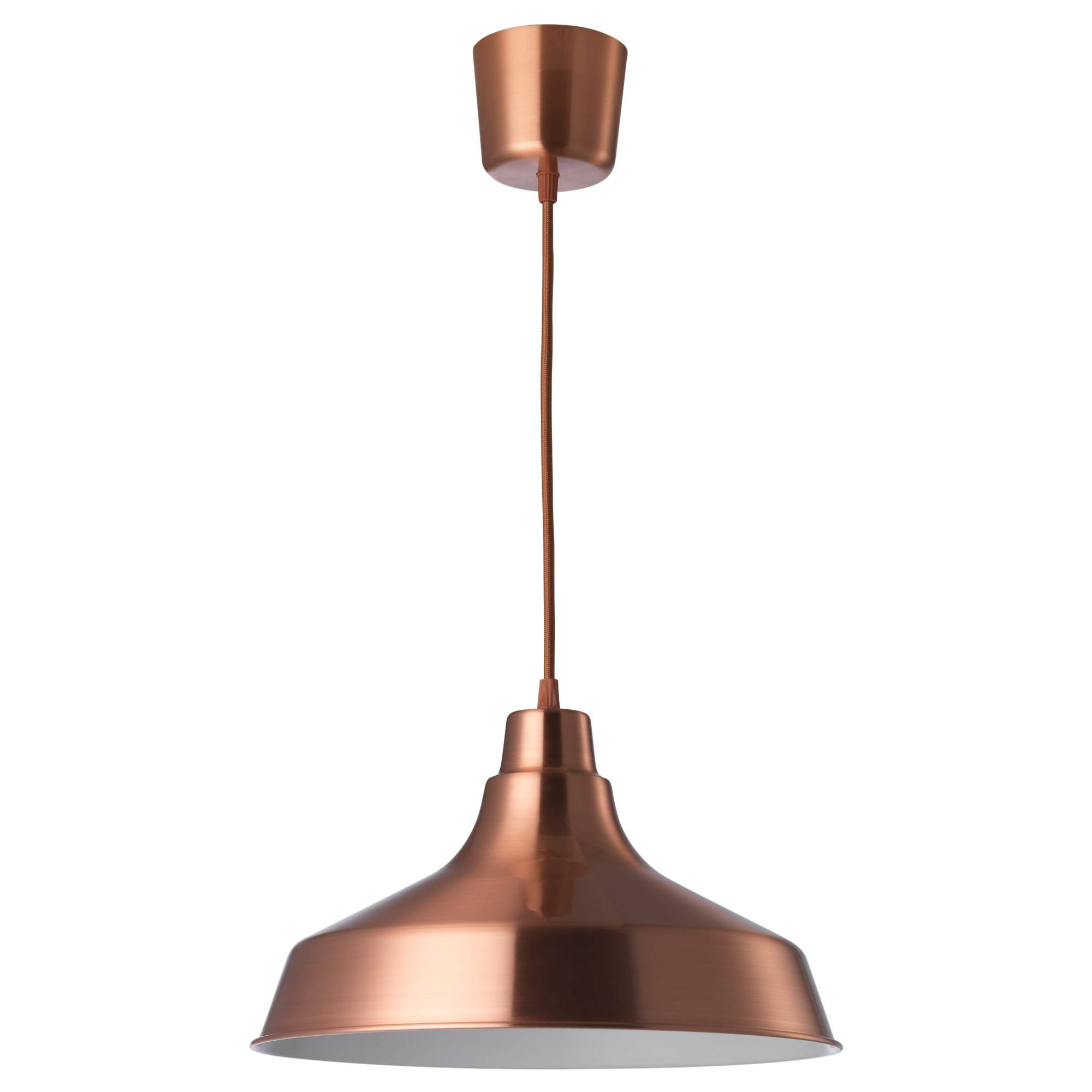 The best ikea pendant lighting vindkre pendant lamp copper colour 36 cm ikea in ikea pendant lighting image aloadofball Images