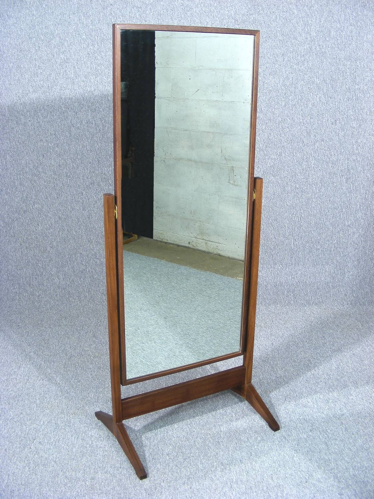 Vintage Full Length Mirror | Vanity Decoration pertaining to Victorian Floor Mirrors (Image 15 of 15)