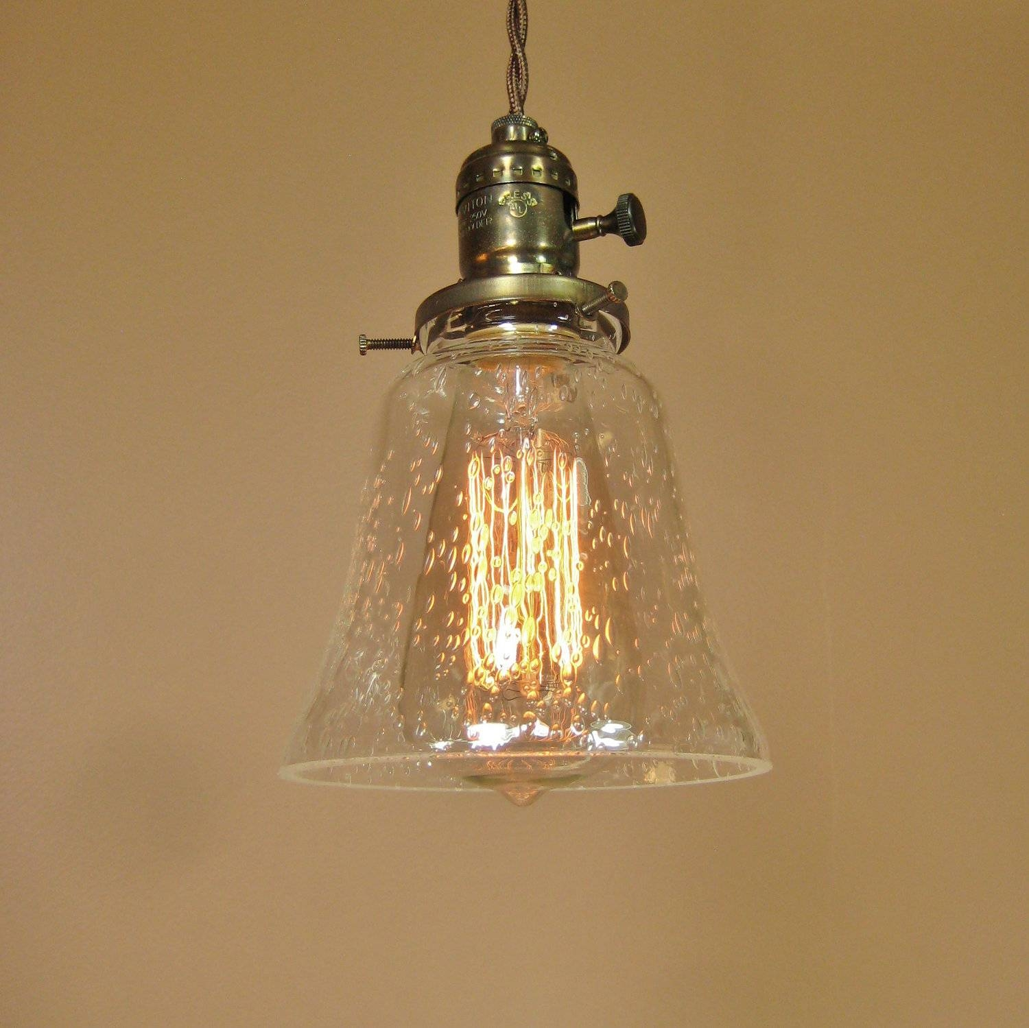 Vintage Glass Pendant Light - Baby-Exit in Unique Mini Pendant Lights (Image 15 of 15)