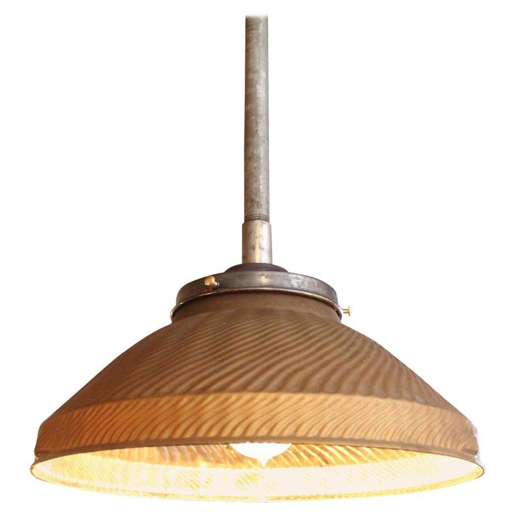 Vintage Industrial Gold Mercury Glass Pendant Hanging Ceiling pertaining to Mercury Glass Pendant Lighting (Image 15 of 15)