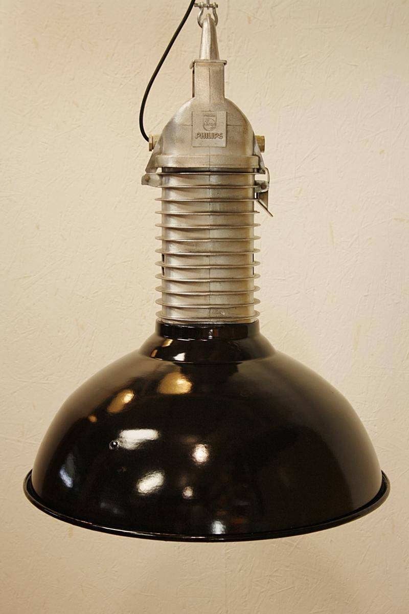 Vintage Industrial Pendant Light From Philips, 1960S For Sale At Regarding 1960S Pendant Lights (View 13 of 15)