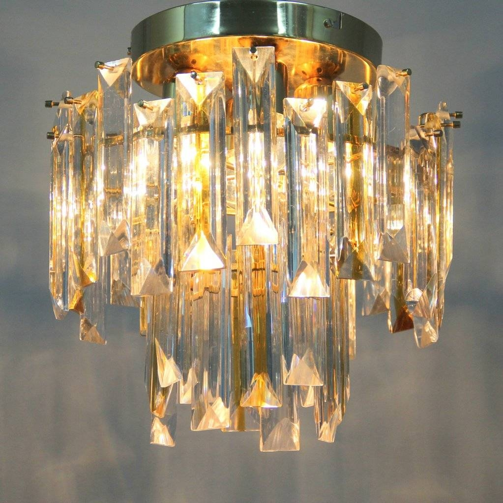 Vintage Italian Murano Glass Ceiling Light For Sale At Pamono Inside Murano Glass Ceiling Lights (View 6 of 15)