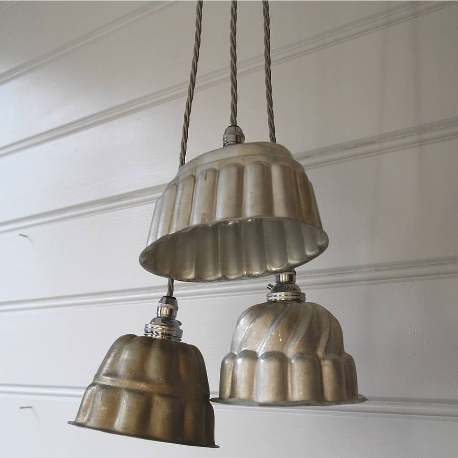 Vintage Jelly Mould Pendant Lightsfolly & Glee pertaining to Quirky Pendant Lights (Image 15 of 15)