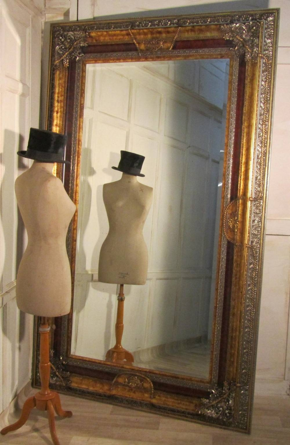 Vintage Large Mirrors. Beautiful This Vintage Style Mirror Stands with regard to Vintage Large Mirrors (Image 14 of 15)
