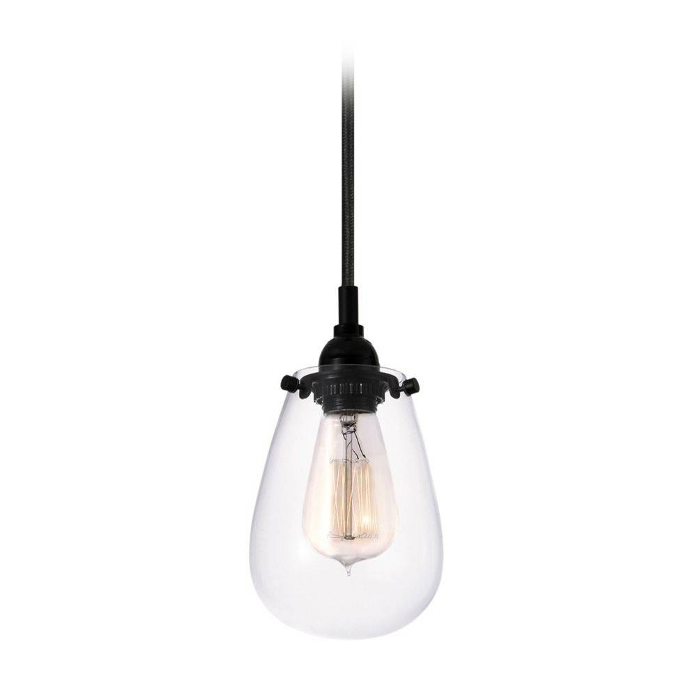 Vintage Mini Pendant Light With Clear Glass | 4291.25 With Clear Glass Ball Pendant Lights (Photo 12 of 15)
