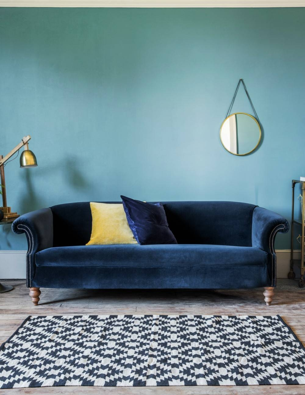 Featured Photo of Midnight Blue Sofas