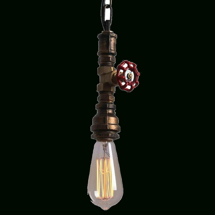 Vintage Water Pipe Hemp Rope, Loft Industrial Pendant. - Glitz with Fancy Rope Pendant Lights (Image 15 of 15)