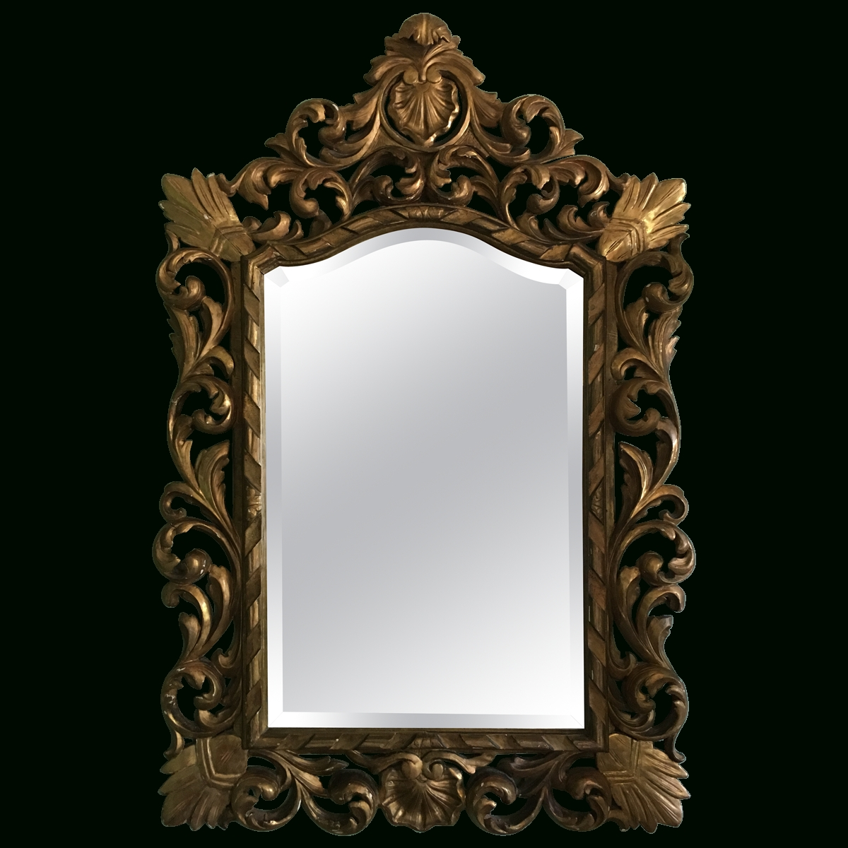 Viyet - Designer Furniture - Accessories - Antique Italian Rococo inside Rococo Style Mirrors (Image 14 of 15)