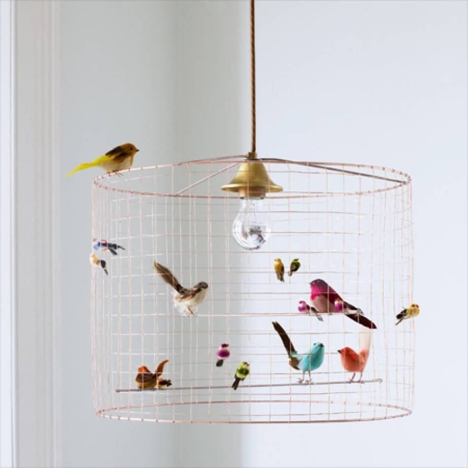 Volières Bird Cage Chandelier | Chandeliers & Ceiling Lights pertaining to Birdcage Lights Fixtures (Image 15 of 15)