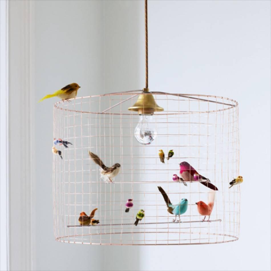 Volières Bird Cage Chandelier   Chandeliers & Ceiling Lights Within Birdcage Pendant Lights (View 4 of 15)