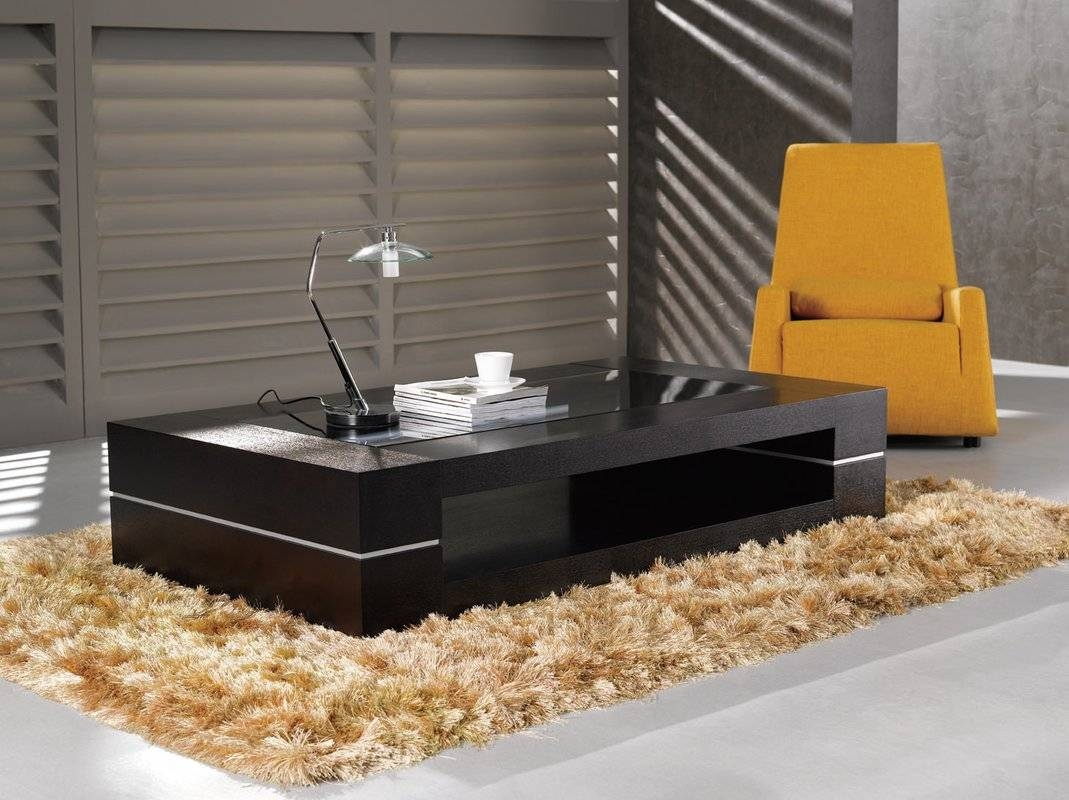 Wade Logan Zayden Modern Coffee Table & Reviews | Wayfair in Modern Coffee Table (Image 15 of 15)
