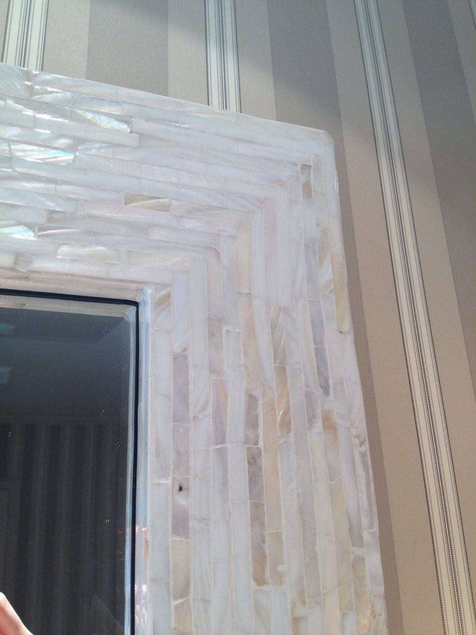 Wall Decoration Ideas With Mother Of Pearl Mirror For Decorate within Mother of Pearl Wall Mirrors (Image 15 of 15)