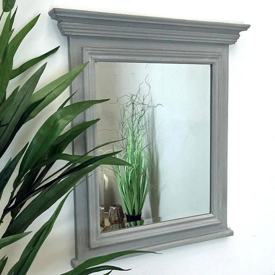 Wall Ideas : Distressed Wooden Wall Mirrors Distressed Wall Mirror For Distressed Cream Mirrors (View 13 of 15)