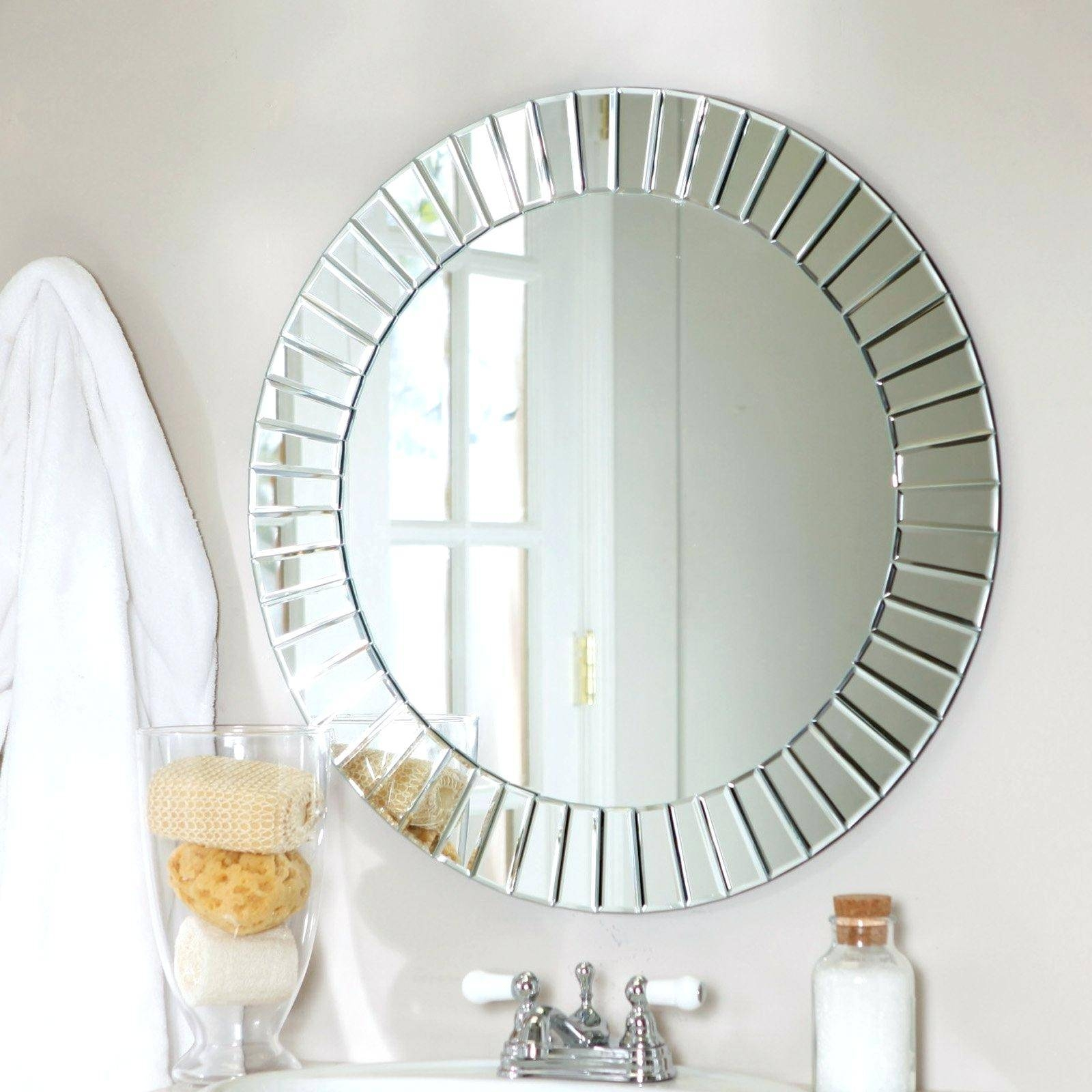 Wall Mirror ~ Full Length Wall Mirror Without Frame Full Length inside Wall Mirrors Without Frame (Image 15 of 15)