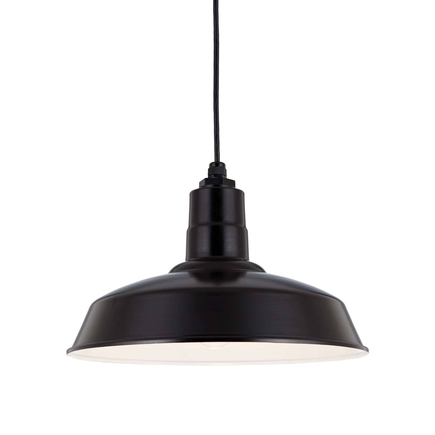 Warehouse Shade Pendant Lighthi-Lite | Ylighting pertaining to Warehouse Pendant Light Fixtures (Image 15 of 15)