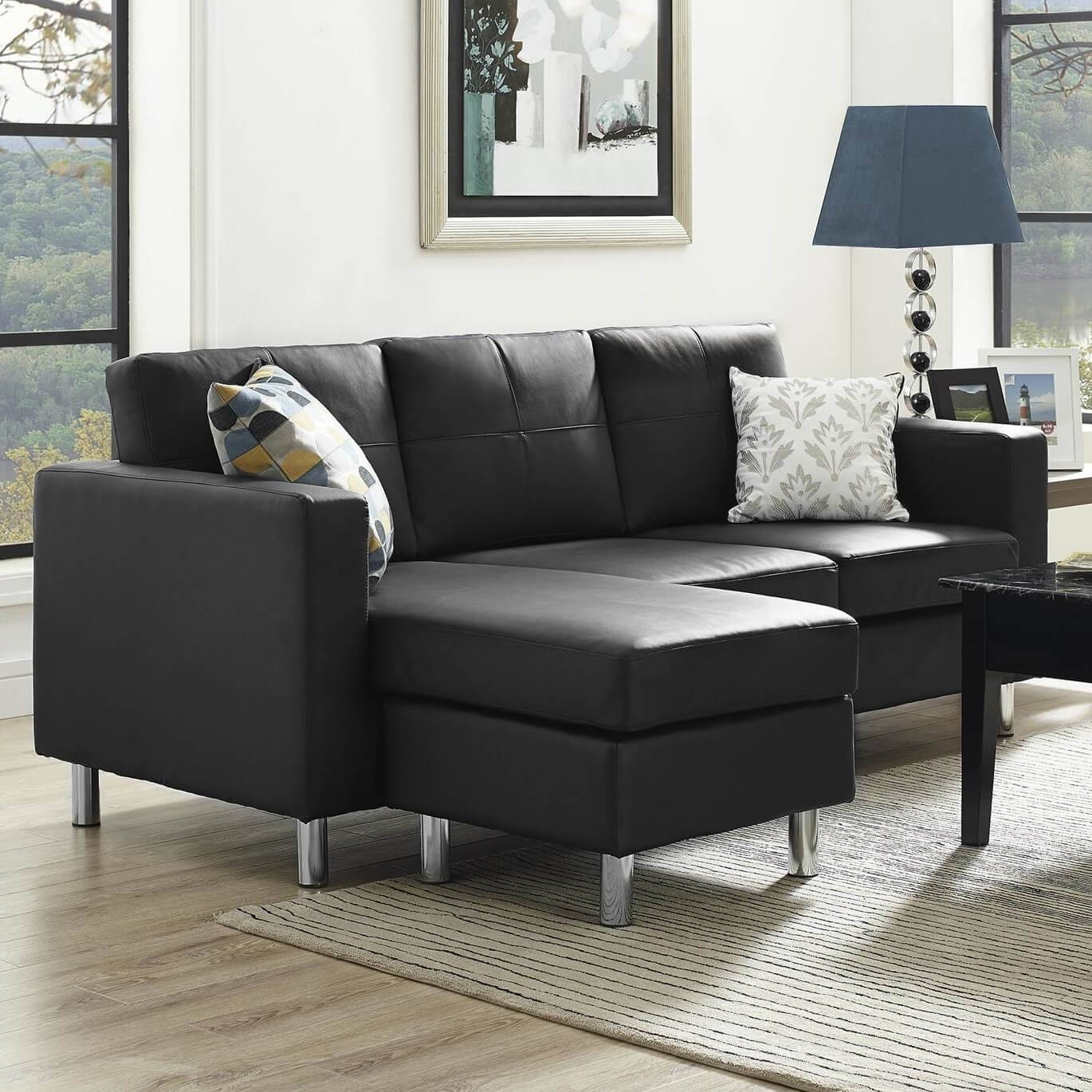 Way Black Modern Sectional Sofa High Quality Sets Extraordinary intended for Black Modern Couches (Image 15 of 15)
