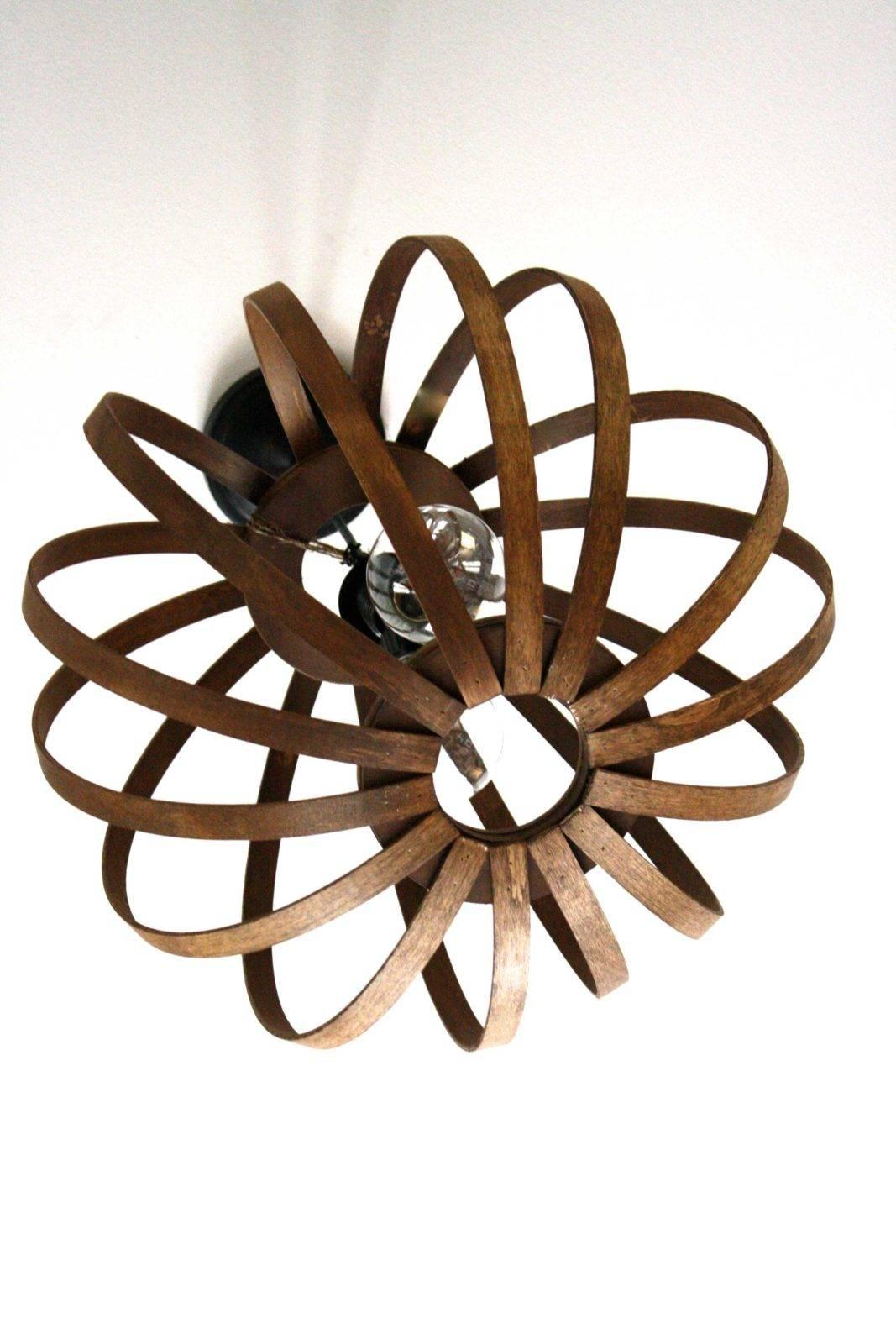 West Elm Knock Off ~ Diy Bentwood Pendant Tutorial | Designer with regard to Bentwood Pendants (Image 12 of 15)