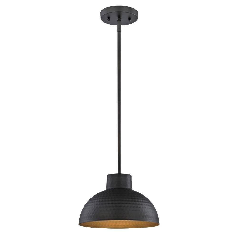 Westinghouse 1-Light Hammered Oil Rubbed Bronze Pendant-6309900 for Oil Rubbed Bronze Pendant Light Fixtures (Image 15 of 15)